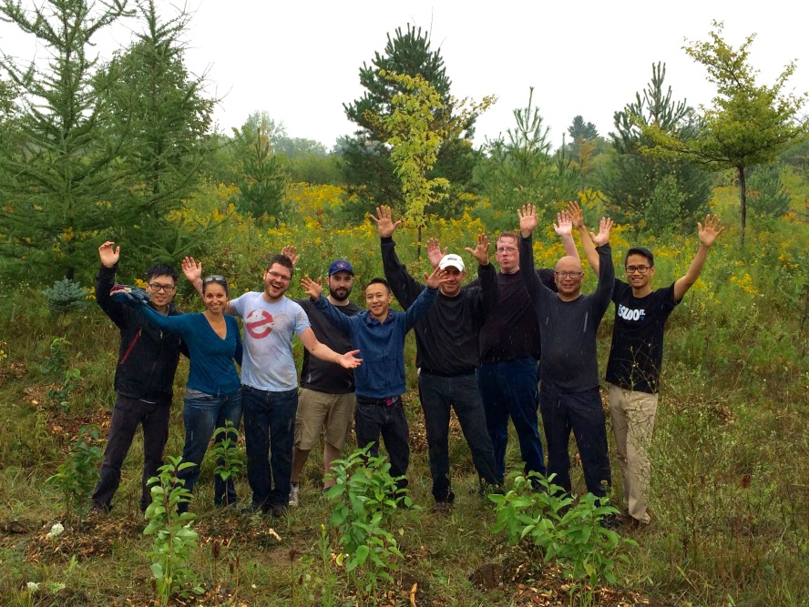 Pledging for a Cause: As a Member of Pledge 1%, iTMethods Partners with Evergreen to Plant over 200 Trees!